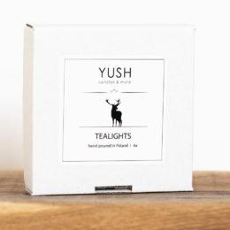 Tealights - podgrzewacze sojowe 100% YUSH