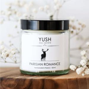 Parisian Romance - świeca sojowa - yush.pl
