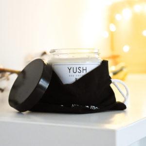 Wegańskie świece sojowe Yush