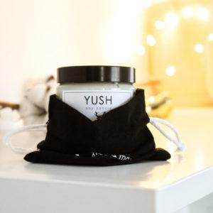 Naturalne i ekologiczne świece sojowe Yush