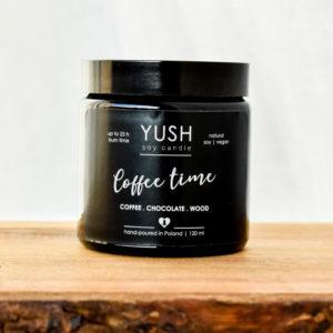 Świeca sojowa Coffee time z nutą kawową