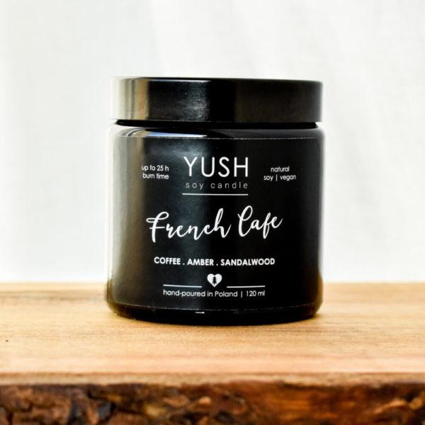 Świeca sojowa French Cafe - kawowa