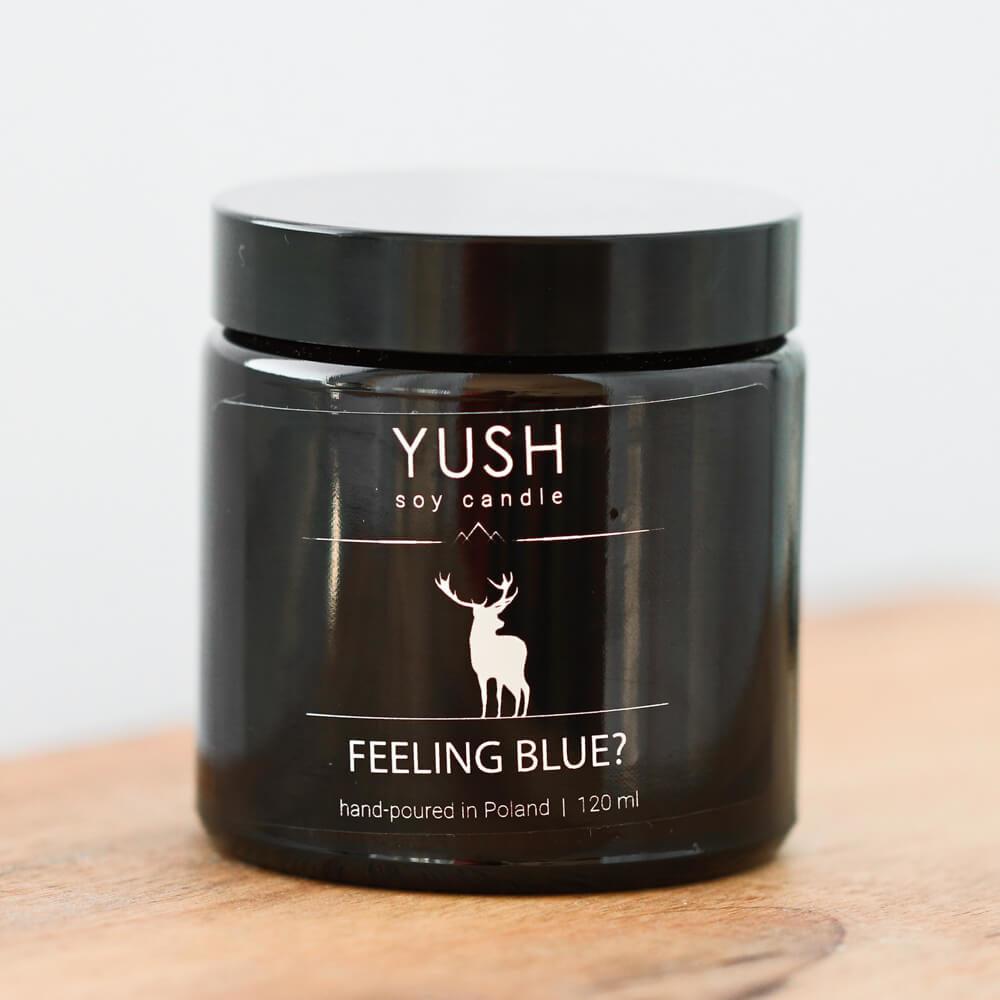 YUSH swieca sojowa FEELING BLUE 120 ml