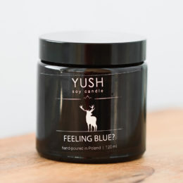 YUSH swieca sojowa FEELING BLUE 120 ml