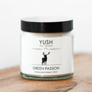 YUSH swieca sojowa GREEN PASSION 120 ml