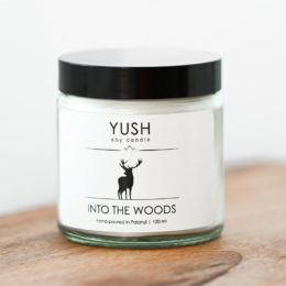 YUSH swieca sojowa INTO THE WOODS 120 ml