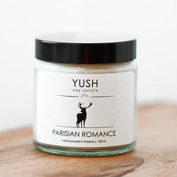 YUSH swieca sojowa PARISIAN ROMANCE 120 ml