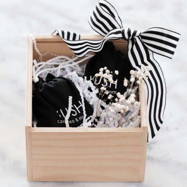 Zestaw prezentowy - świece sojowe