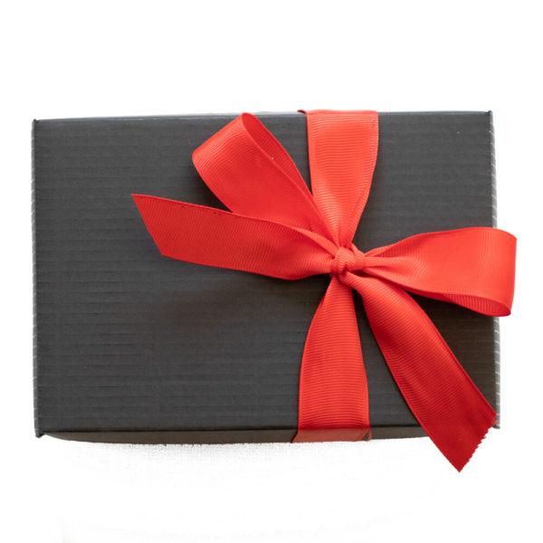 Świąteczne pudełko prezentowe - 2 świece sojowe